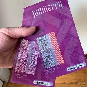 Jamberry Nail Wraps Petite-Spotted Waldo & Scrib❤️